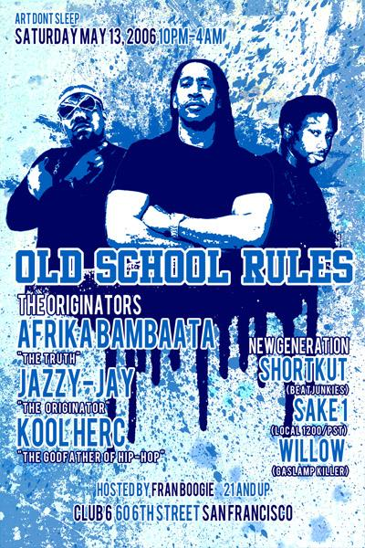 Prima Lux presents: Old School Rules