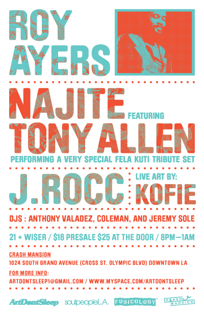 ArtDontSleep presents: Roy Ayers