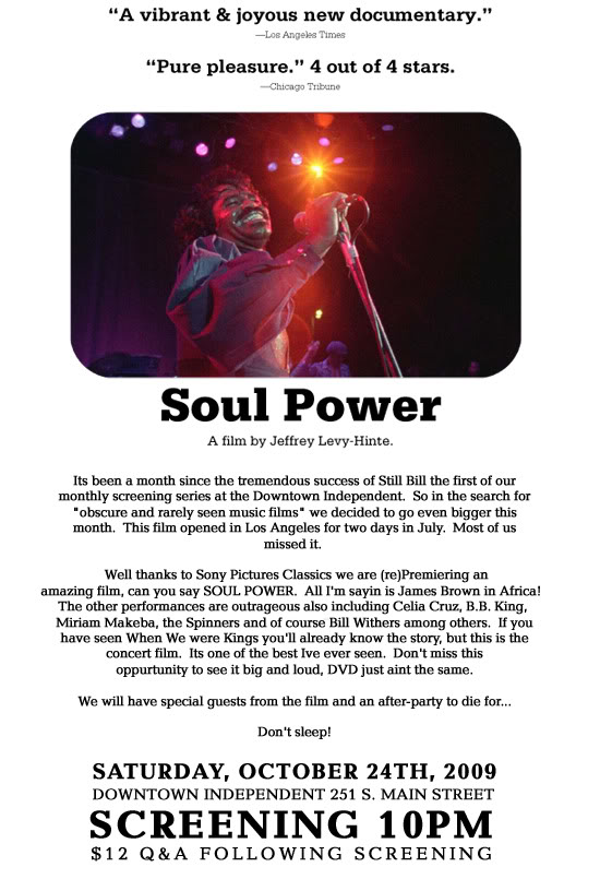 Mochilla presents: Soul Power