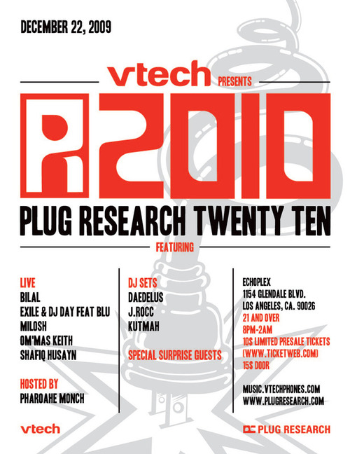 Plug Research and Vtech present: Plug Research 2010