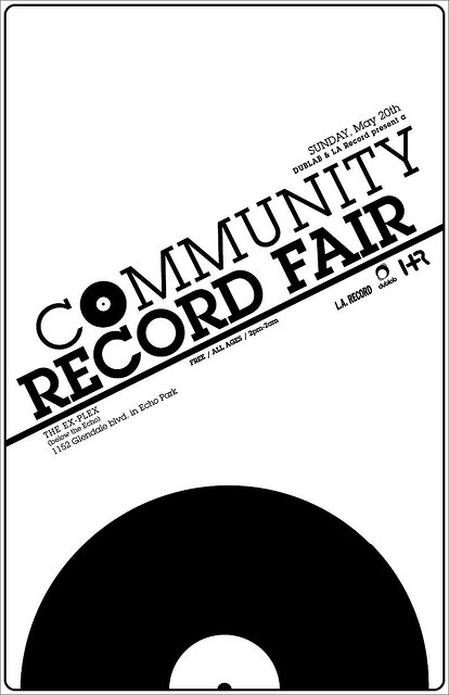 dublab presents A Community Record Fair