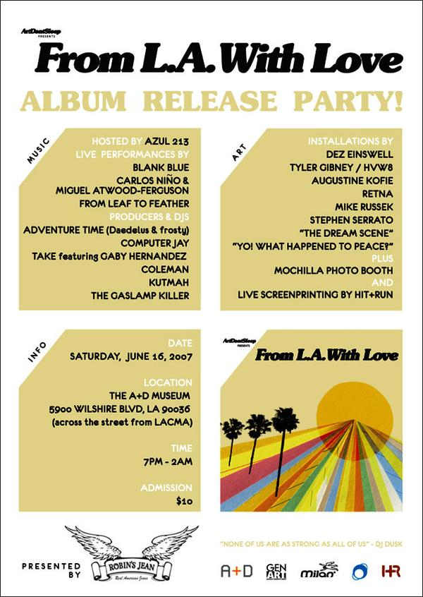 From LA With Love Release Party